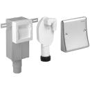Anlageteile Geberit - Einbausifon, für Wasch- oder Geschirrspül- maschinen
