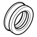 Gummimanschette für Urinal- und Bidetsifon (358.826.00.1)