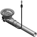 Raumspar-Ventil Eisinger Ø 115 mm, mit Stösselbetätigung ohne Überlauf