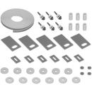 Schallschutz ISO-SET HAFNER Waschtischmöbel, Gummiband 6,4 m 6 Gummihülsen, 6 U-Scheiben<br...
