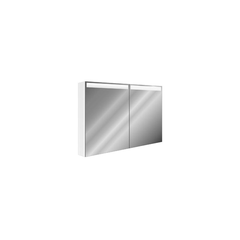 spiegelschrank sidler cubango led breite 120 cm h he 78 5