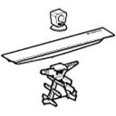 Abdeckung komplett zu Duschrinne CleanLine60 flach (243.129.00.1)