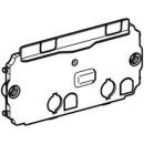 Schutzplatte für UP-Spülkasten Omega