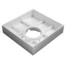 Duschenwannenträger Poresta 2.0, 80 x 80 x 2,5 cm