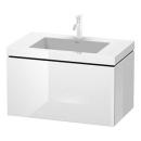 Waschtischkombination Duravit Vero Air, Breite 80 cm...