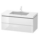 Waschtischkombination Duravit Vero Air, Breite 100 cm...