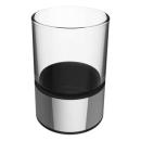 Glashalter Schmidlin Element Standmodell, Klarglas magnetisch