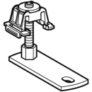 Fuss kurz, zu Duschfläche Setaplano, für stochwerks- durchdringende Installation