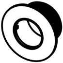 Abdeckrosette für Duscharm zu 3212 101 (9820364)