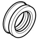 Steckdichtung für Keramikstutzen zu Ablaufmanschette Geberit-Urinoir