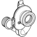 Sifon Ø 40 mm mit Sondezu Urinal Tamaro VS3411 116 / 118(8.9582.8)