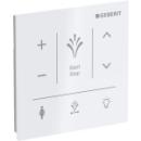 Wandbedienpanel Geberit Selazur manuellen, drahtlosenSteuerung der Dusch-WC-Funktionen