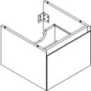 Waschtischmöbel Alterna zeroplus, Breite 46,9cm, Höhe 35cmTiefe 48,2 cm1 Schublade