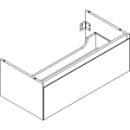 Waschtischmöbel Alterna zeroplus, Breite 96,9cm, Höhe 35cmTiefe 48,2 cm1 Schublade