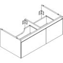 Waschtischmöbel Alterna zeroplus, Breite 96,9cm, Höhe 35cmTiefe 48,2 cm2 Schubladen