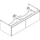 Waschtischmöbel Alterna zeroplus, Breite 121,9cm,Höhe 35cmTiefe 48,2 cm2 Schubladen
