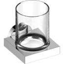 Glashalter Keuco Edition 90Kristallglas klarRosette rund