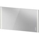 Lichtspiegel Duravit XViu IconB x H x T = 142 x 80 x 4 cminkl. SpigelheizungLED Beleu...