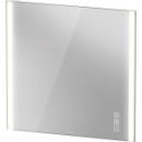 Lichtspiegel Duravit XViu IconB x H x T = 82 x 80 x 4 cminkl. SpigelheizungLED Beleuc...
