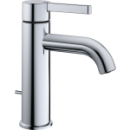 Einlochmischer KWC BevoAuslauf fest, A 115 mmKaltwasser-PositionAblaufventil