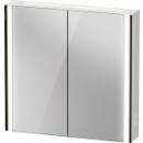 Spiegelschrank DuravitXViu Icon, B x H x T =82 x 80 x 15,6 cm2 Doppelspiegeltüren