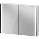 Spiegelschrank Duravit XViuSensor, Schwarz MattB x H x T =102 x 80 x 15,6 cm