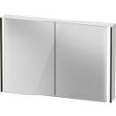 Spiegelschrank Duravit XViuSensor, Schwarz MattB x H x T =122 x 80 x 15,6 cm