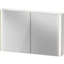 Spiegelschrank DuravitXViu Icon, B x H x T =122 x 80 x 15,6 cm2 Doppelspiegeltüren