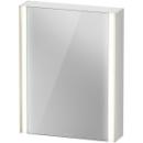 Spiegelschrank Duravit XViuSensor, Band linksB x H x T =62 x 80 x 15,6 cm